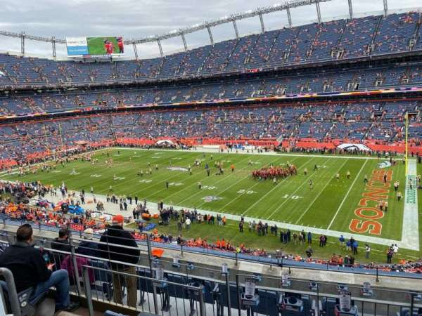 Empower Field at Mile High Stadium, section: 303, row: 7, seat: 10