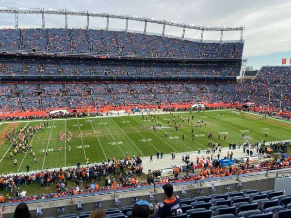 Empower Field at Mile High Stadium, section: 312, row: 8, seat: 8
