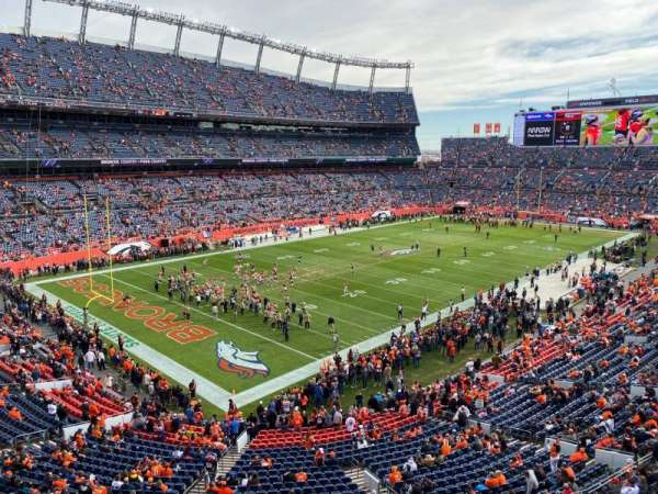 Empower Field at Mile High Stadium, section: 317, row: 2, seat: 14