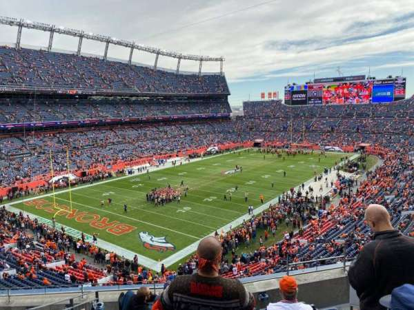 Empower Field at Mile High Stadium, section: 318, row: 5, seat: 3