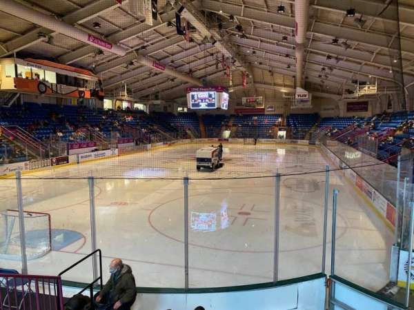 1st Summit Arena, section: 10, row: G, seat: 6