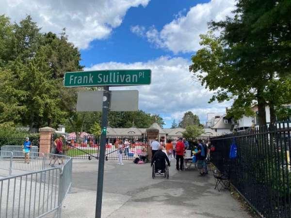 Saratoga Race Course, section: Main Entrance