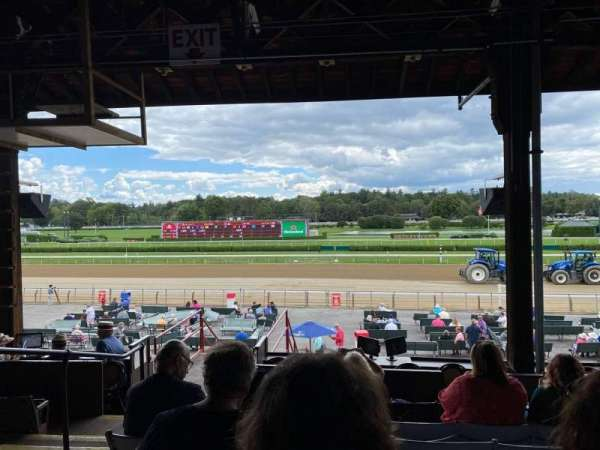 Saratoga Race Course, section: F, row: E, seat: 18