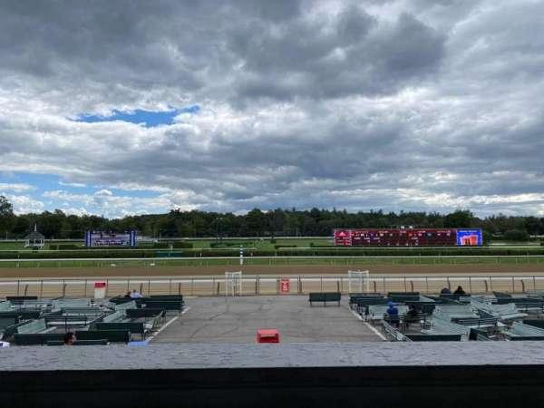 Saratoga Race Course, section: O, row: B, seat: 8