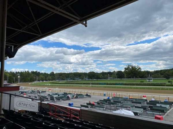 Saratoga Race Course, section: S, row: F, seat: 10
