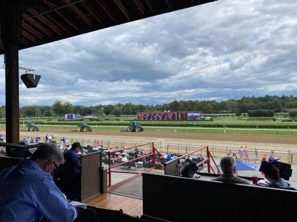 Saratoga Race Course, section: D, row: B, seat: 17