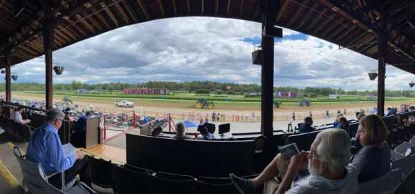 Saratoga Race Course, section: D, row: B, seat: 18