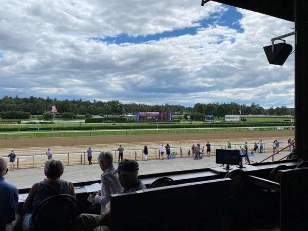 Saratoga Race Course, section: C, row: A, seat: 18