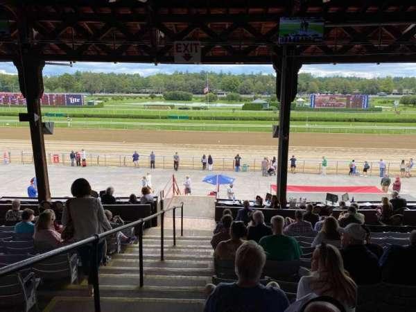 Saratoga Race Course, section: B, row: J, seat: 19