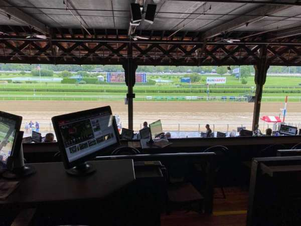 Saratoga Race Course, section: Boxes, row: G6