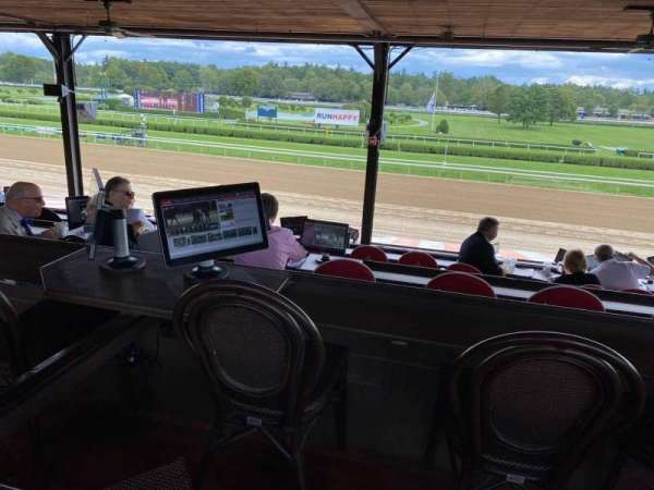 Saratoga Race Course, section: Boxes