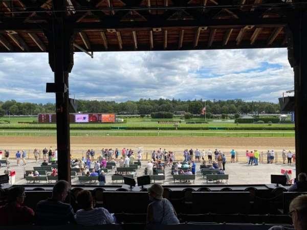 Saratoga Race Course, section: E, row: E, seat: 15