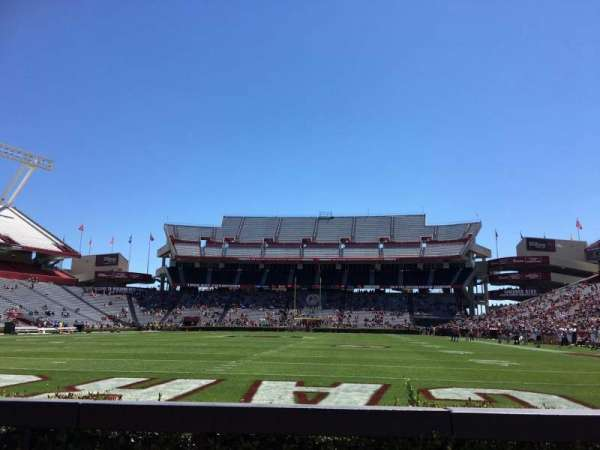 Williams-Brice Stadium, section: 32, row: 3, seat: 6