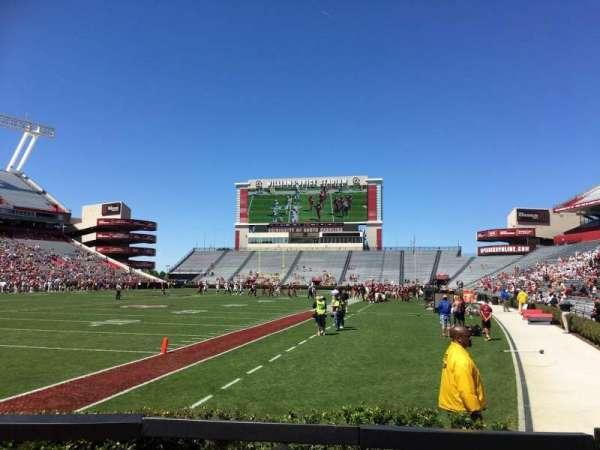 Williams-Brice Stadium, section: 15, row: 6, seat: 7