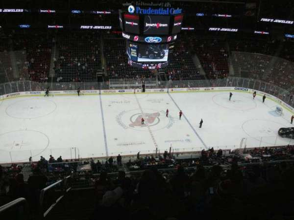 Prudential Center, section: 111, row: 8, seat: 19