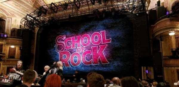 Winter Garden Theatre, section: ORCH, row: P, seat: 8