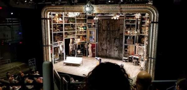 Laura Pels Theatre, section: Rear Mezz, row: CC, seat: 2