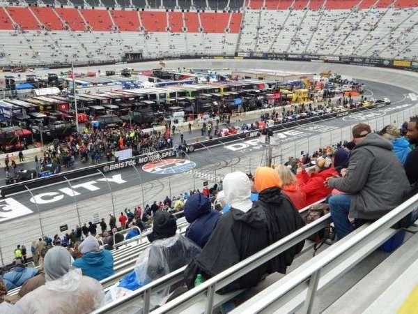 Bristol Motor Speedway, section: K, row: 31, seat: 10