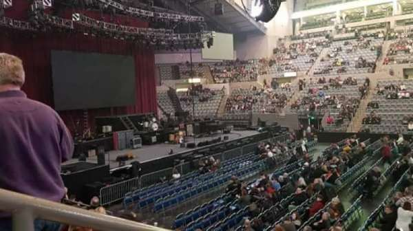 Allen County War Memorial Coliseum , section: 216, row: 10, seat: 14