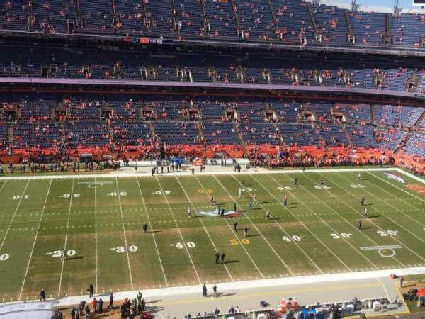 Broncos Stadium at Mile High, section: 536, row: 6, seat: 14