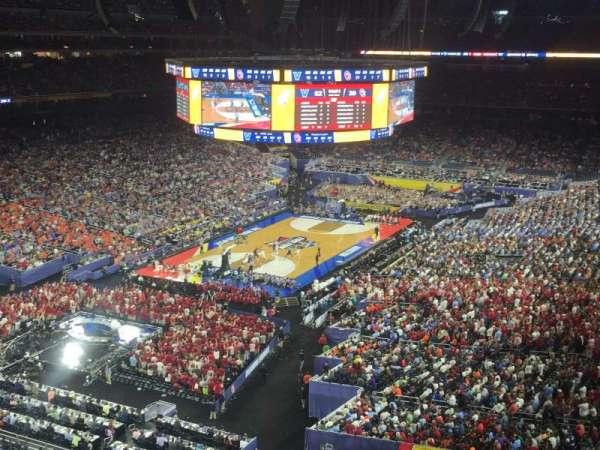 NRG Stadium, section: 543, row: E, seat: 1