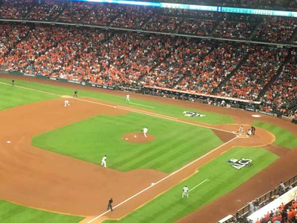 Minute Maid Park, section: 407, row: 4, seat: 10
