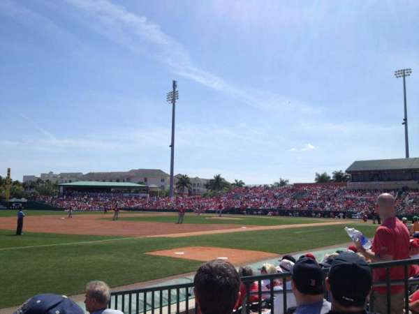 Roger Dean Chevrolet Stadium, section: SRO, row: LF