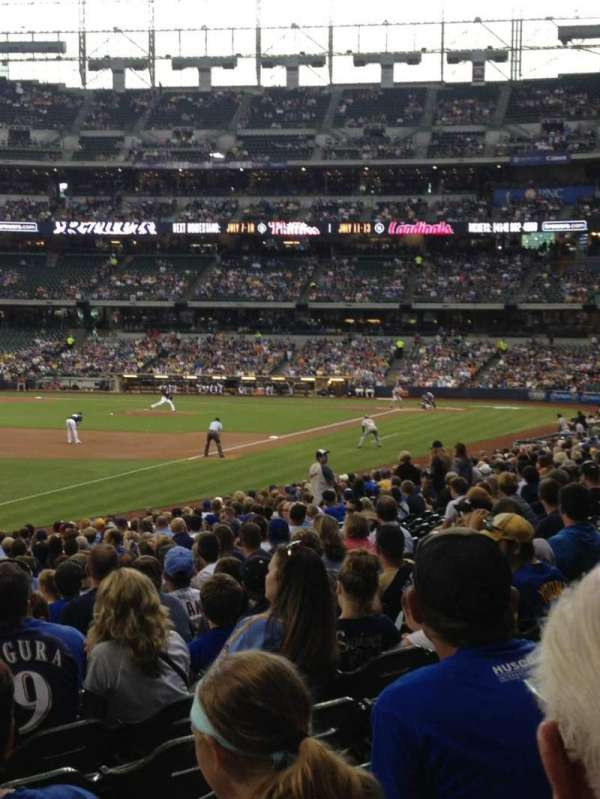 Miller Park, section: 128, row: 24, seat: 22