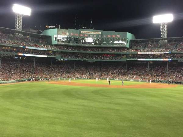 Fenway Park, section: Bleacher 37, row: 3, seat: 7