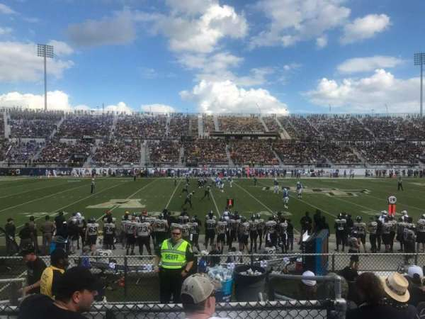 Spectrum Stadium, section: 111, row: 7, seat: 17