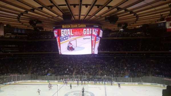 Madison Square Garden, section: 225, row: 2, seat: 1