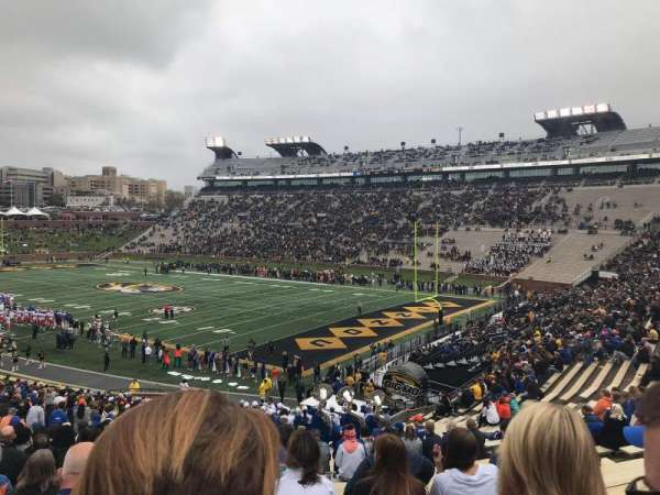 Faurot Field, section: 1, row: 44, seat: 12