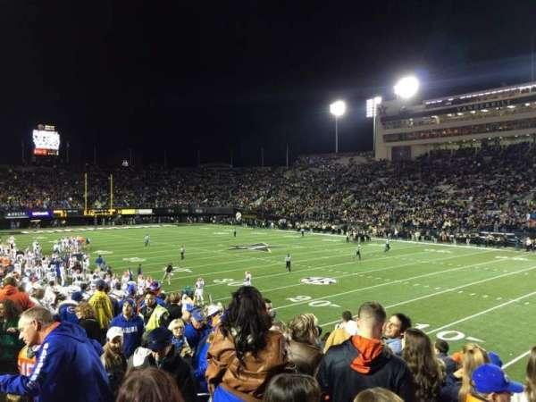 Vanderbilt Stadium, section: U, row: 11