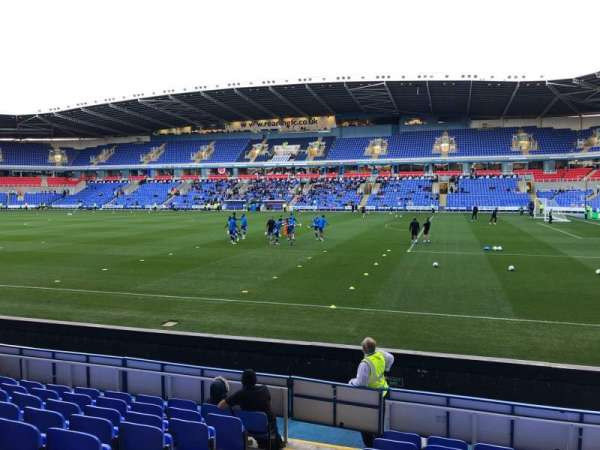 Madejski Stadium, section: Y20, row: J, seat: 79
