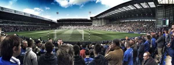 The Hawthorns, section: A6, row: N, seat: 69