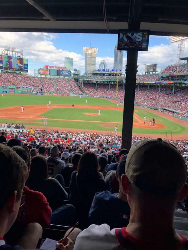 Fenway Park, section: Grandstand 25, row: 13, seat: 1