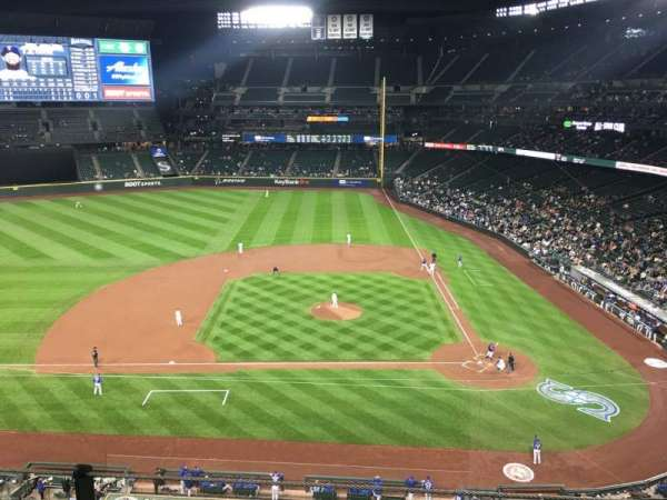 Safeco Field, section: 337, row: 2, seat: 1