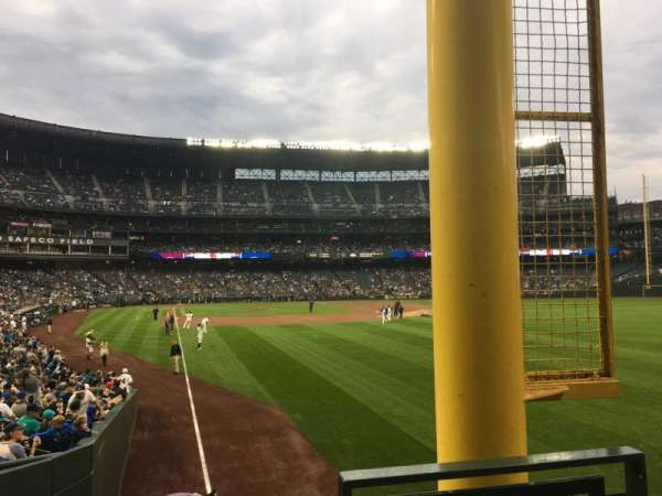 Safeco Field, section: 110, row: 24, seat: 1