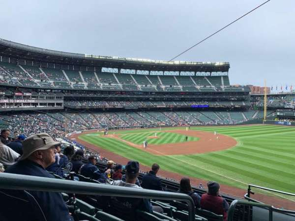 T-Mobile Park, section: 214, row: 6, seat: 1