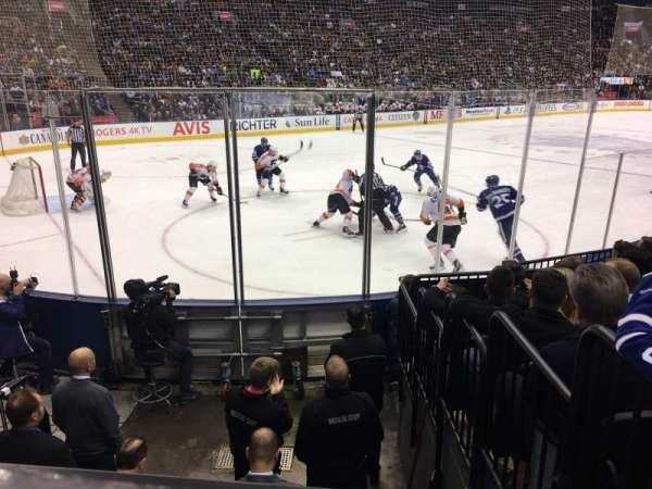 Scotiabank Arena, section: 111, row: 9, seat: 5
