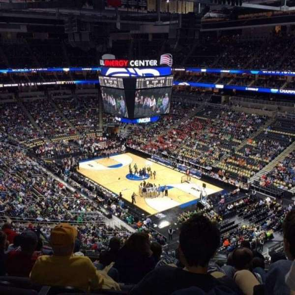 PPG Paints Arena, section: 232, row: H