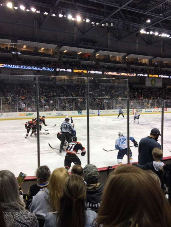 Huntington Center, section: 109, row: F, seat: 3