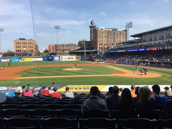 Fifth Third Field, section: 107, row: S, seat: 12