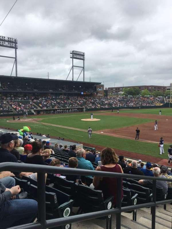 Huntington Park, section: 4, row: 17, seat: 18