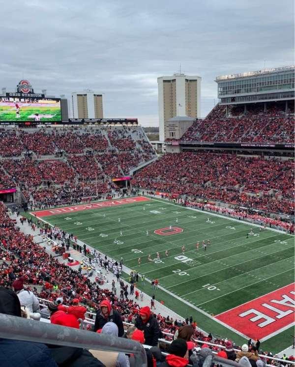 Ohio Stadium, section: 10C, row: 15, seat: 31