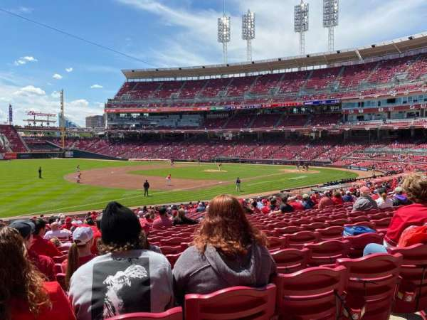 Great American Ball Park, section: 112, row: FF, seat: 17