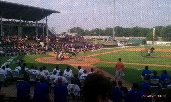 David Allen Memorial Ballpark, section: 1, row: 4, seat: 34
