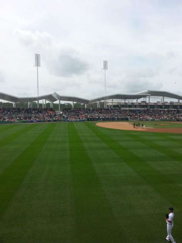 JetBlue Park, section: Monster 7, row: 1