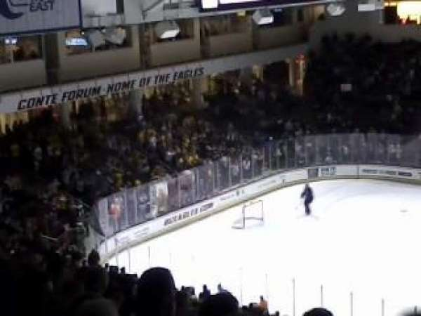 Conte Forum, section: LL, row: 34, seat: 20