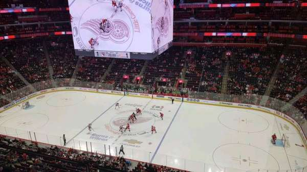 Little Caesars Arena, section: 210, row: 1, seat: 7